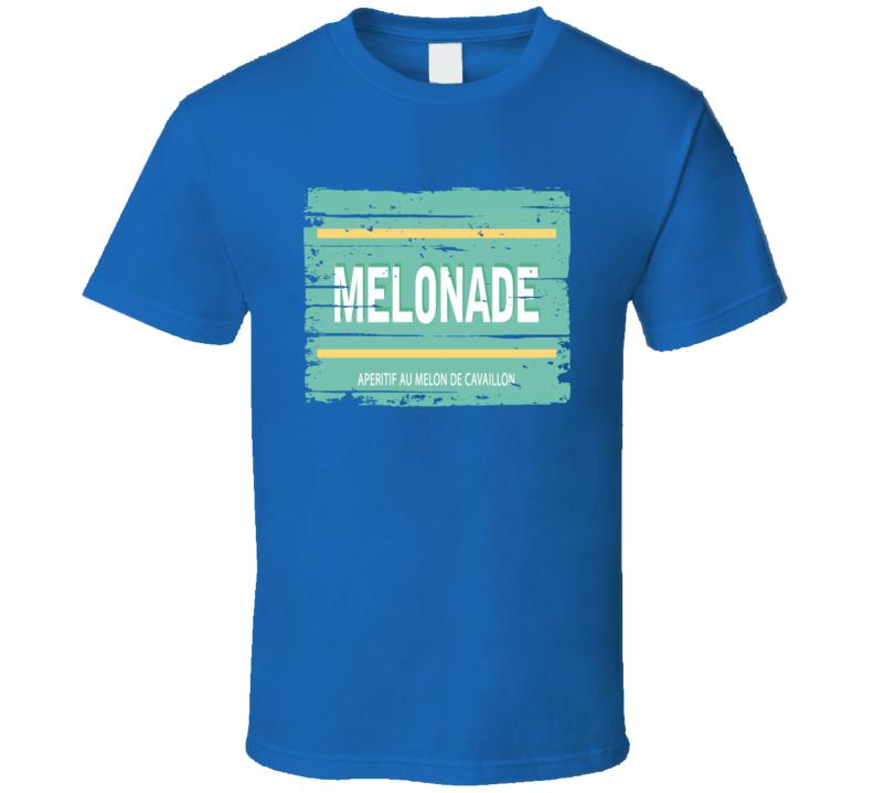 Melonade Liqueur Alcohol Drinking Gift Worn Look T Shirt