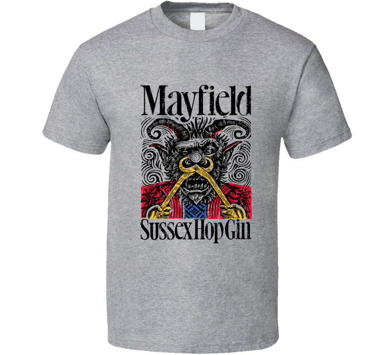 Mayfield Liqueur Alcohol Drinking Gift Worn Look T Shirt