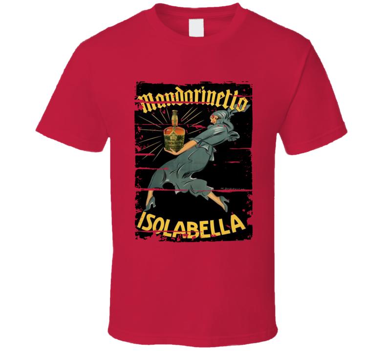 Mandarinetto Liqueur Alcohol Drinking Gift Worn Look T Shirt