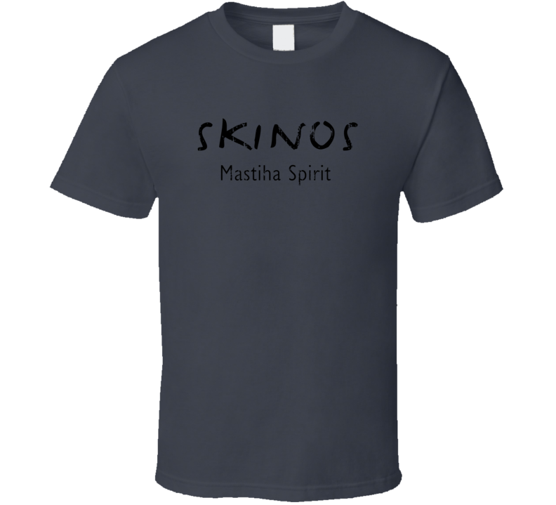 Skinos Liqueur Alcohol Drinking Gift Worn Look T Shirt