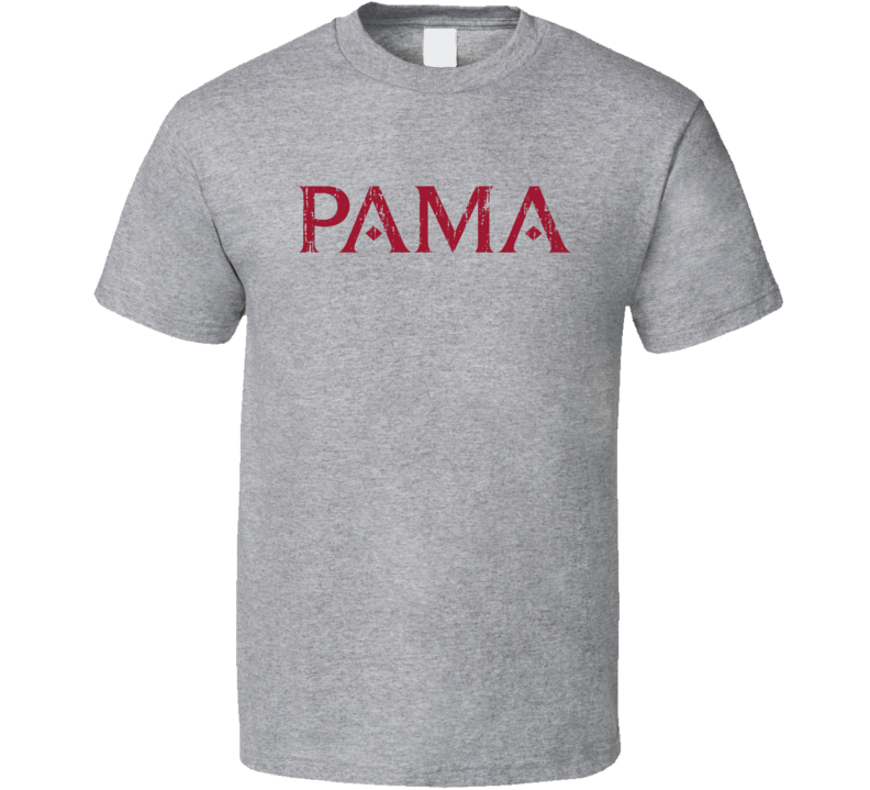 Pama Liqueur Alcohol Drinking Gift Worn Look T Shirt