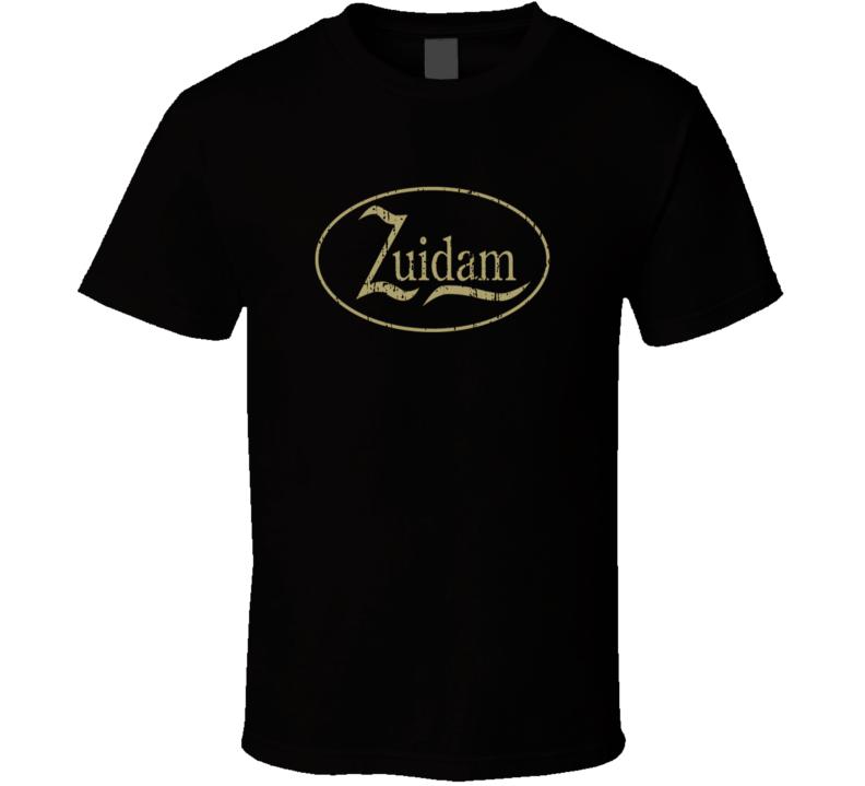 Zuidam Liqueur Alcohol Drinking Gift Worn Look T Shirt