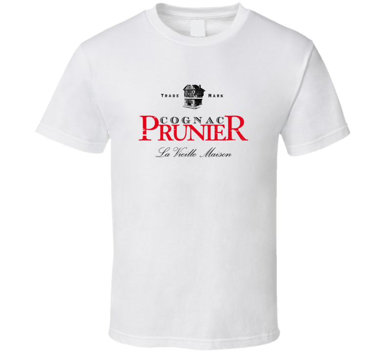 Prunier Liqueur Alcohol Drinking Gift Worn Look T Shirt