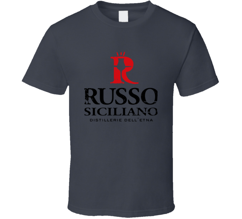 Russo Liqueur Alcohol Drinking Gift Worn Look T Shirt