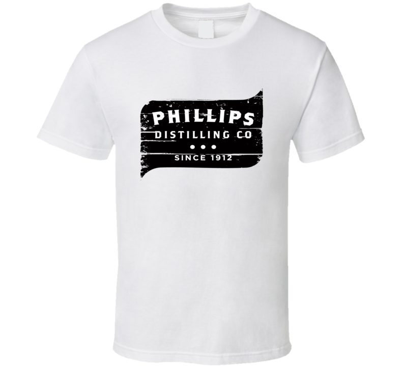 Phillips Liqueur Alcohol Drinking Gift Worn Look T Shirt