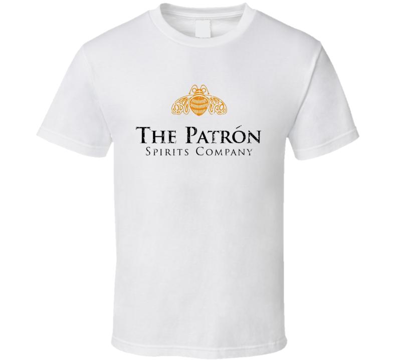 Patron Liqueur Alcohol Drinking Gift Worn Look T Shirt