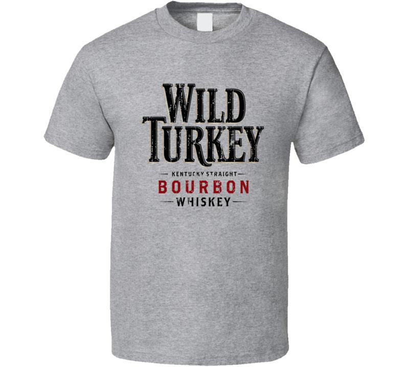 Wild Turkey Liqueur Alcohol Drinking Gift Worn Look T Shirt