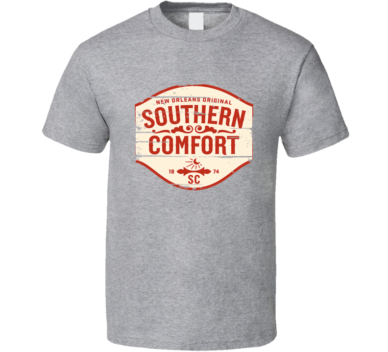 Southern Comfort Liqueur Alcohol Drinking Gift Worn Look T Shirt
