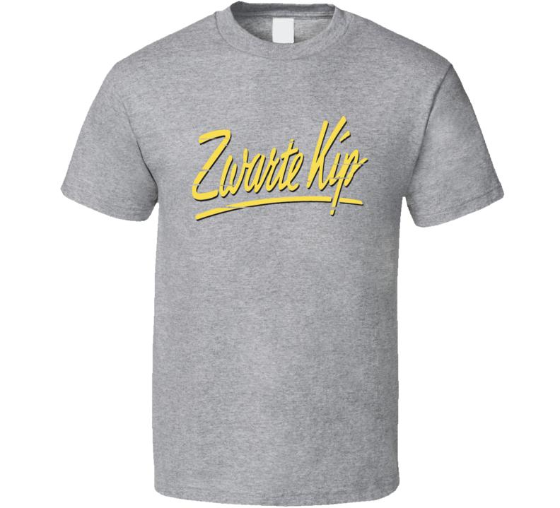 Zwarte Kip Liqueur Alcohol Drinking Gift Worn Look T Shirt