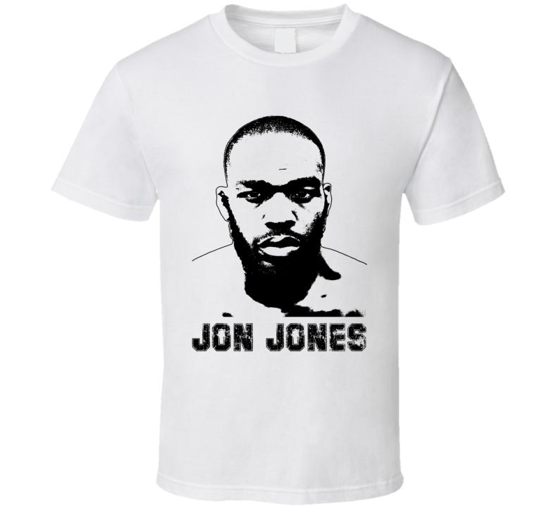 Jon Jones Mma Fighter Image T Shirt