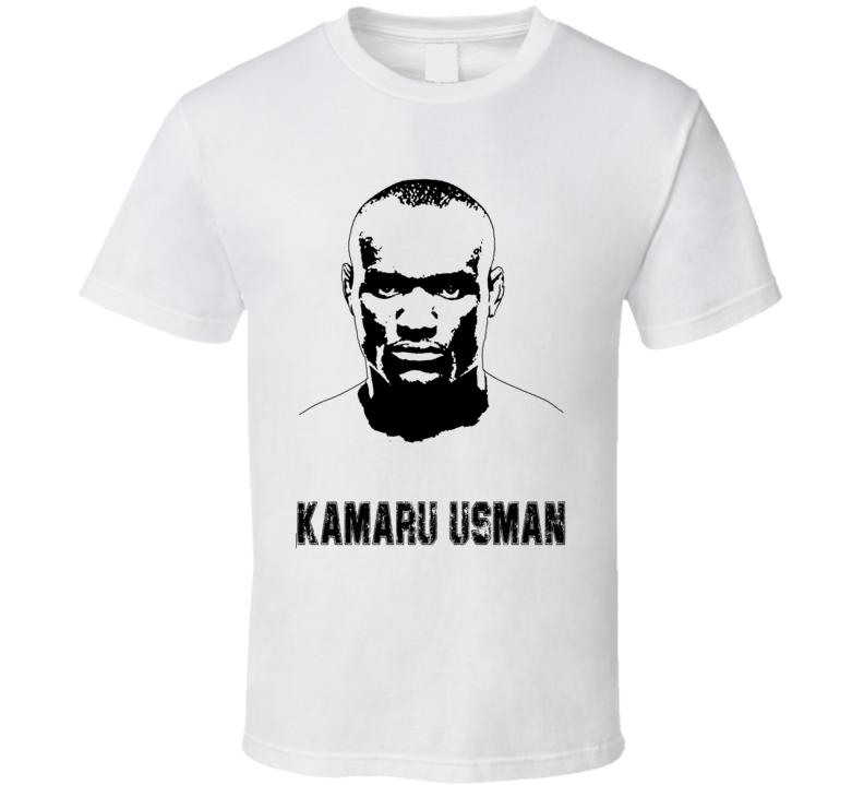 Kamaru Usman Mma Fighter Image T Shirt