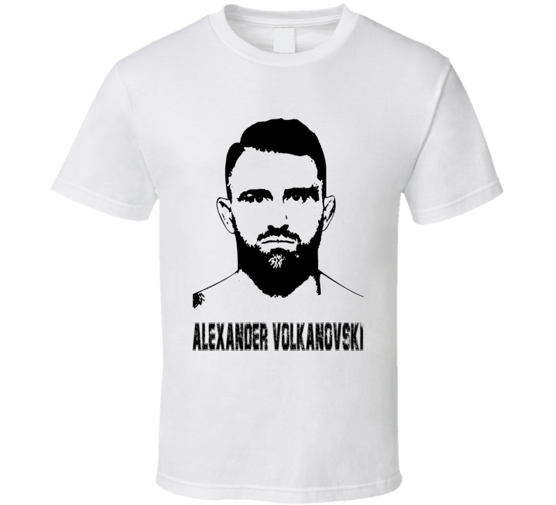 Alexander Volkanovski Mma Fighter Image T Shirt