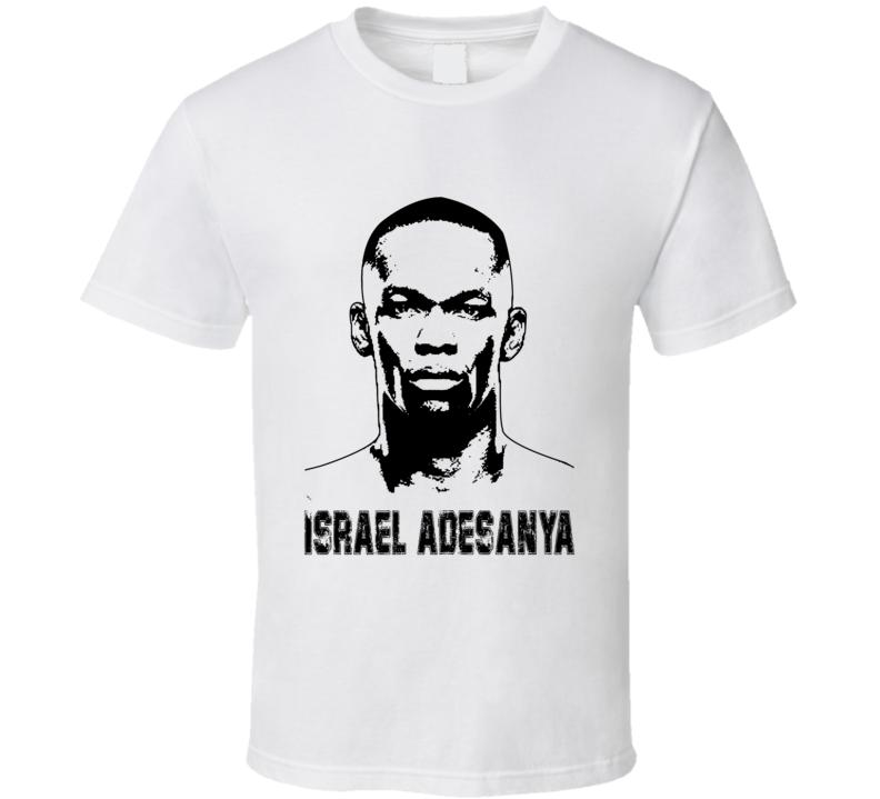 Israel Adesanya Mma Fighter Image T Shirt