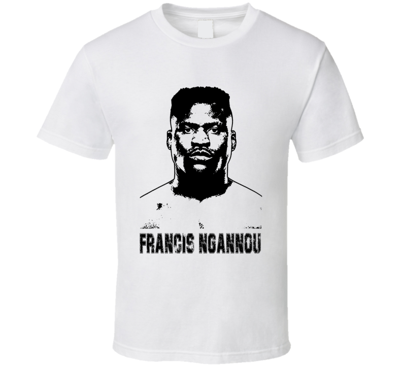 Francis Ngannou Mma Fighter Image T Shirt