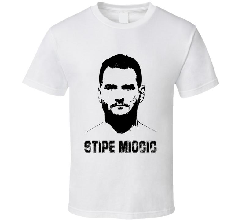 Stipe Miocic Mma Fighter Image T Shirt