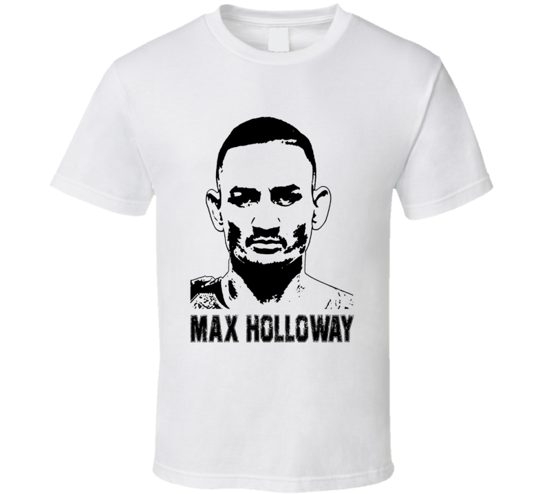 Max Holloway Mma Fighter Image T Shirt