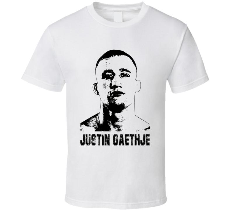 Justin Gaethje Mma Fighter Image T Shirt