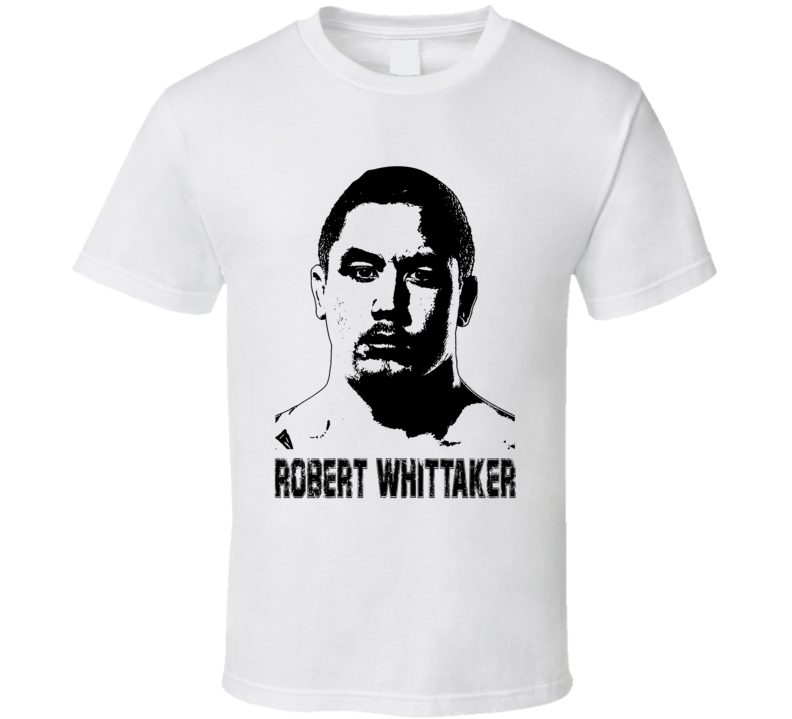Robert Whittaker Mma Fighter Image T Shirt