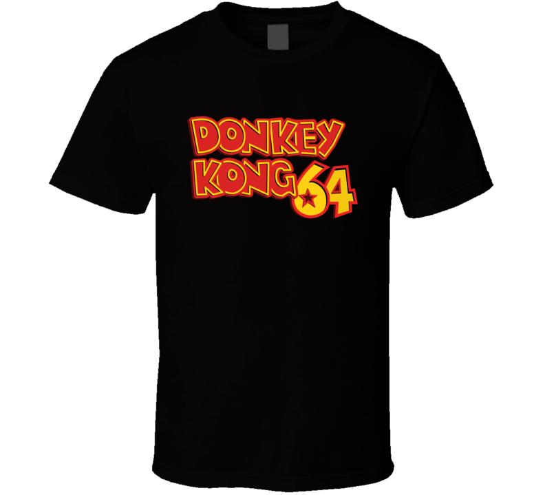 Donkey Kong Classic Video Game Cartridge Retro Gift T Shirt