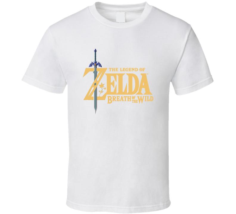 The Legend Of Zelda Classic Video Game Cartridge Retro Gift T Shirt