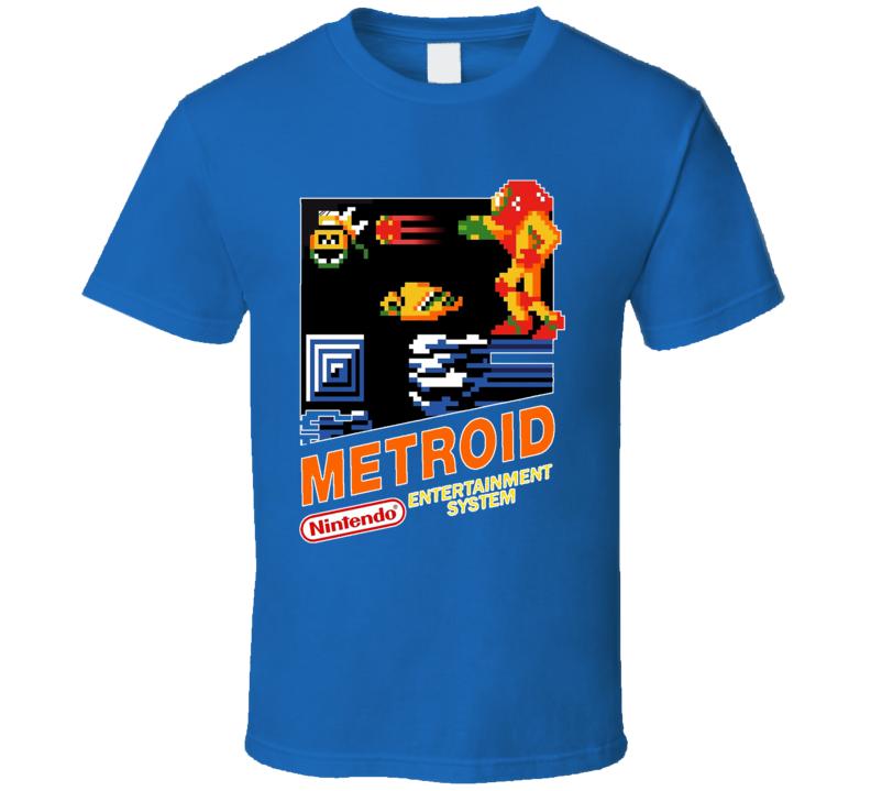 Meteroid Classic Video Game Cartridge Retro Gift T Shirt
