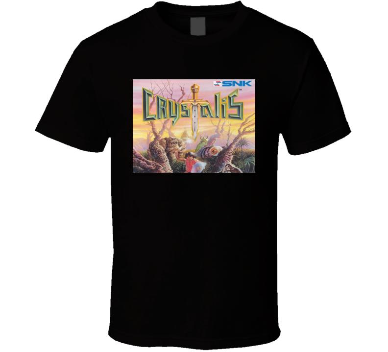 Crystalis Classic Video Game Cartridge Retro Gift T Shirt