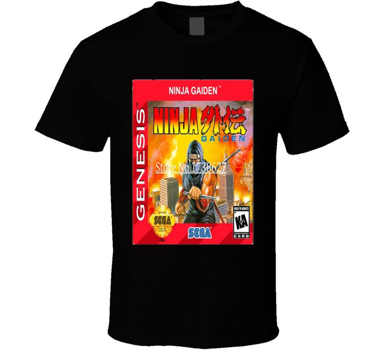 Ninja Gaiden Classic Video Game Cartridge Retro Gift T Shirt