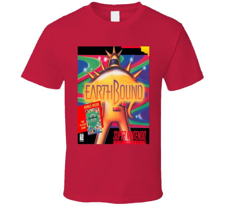 Earthbound Nes Classic Video Game Cartridge Retro Gift T Shirt
