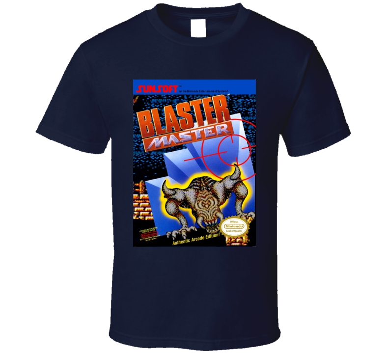 Blaster Master Classic Video Game Cartridge Retro Gift T Shirt