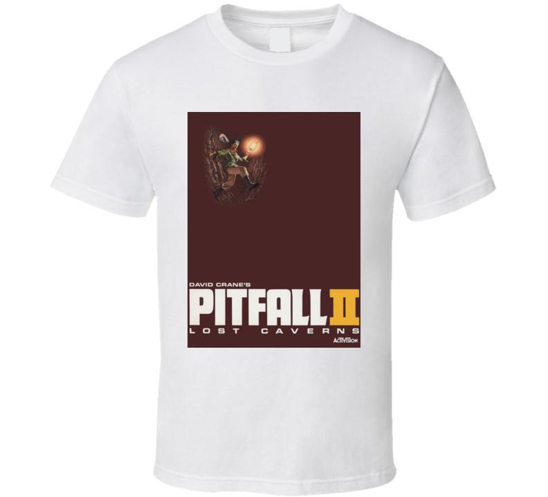 Pitfall Ii Lost Caverns Classic Video Game Cartridge Retro Gift T Shirt