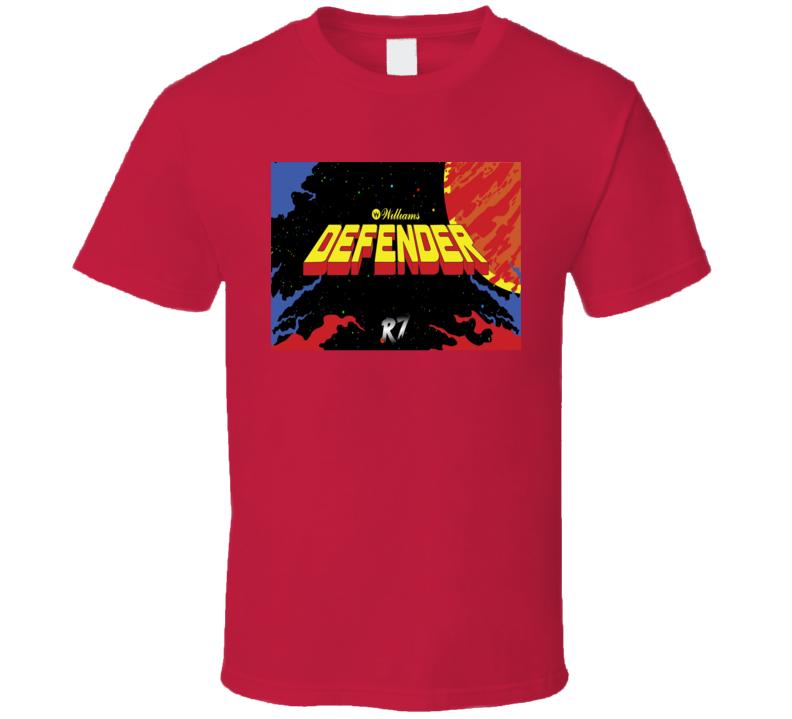 Defender 1981 Classic Video Game Cartridge Retro Gift T Shirt