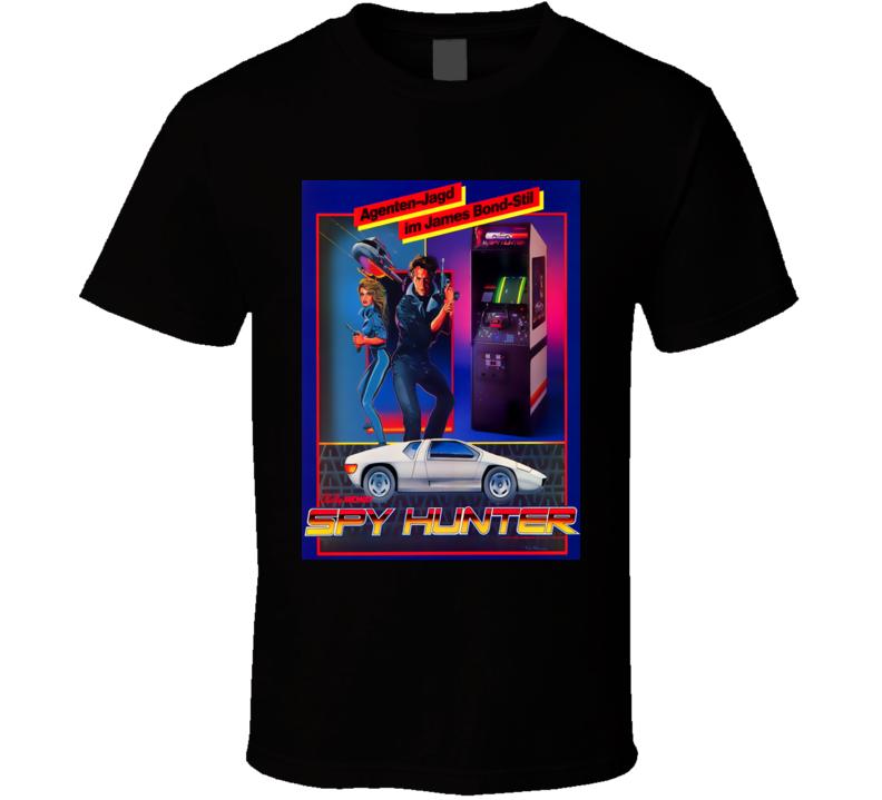 Spy Hunter 1983 Classic Video Game Cartridge Retro Gift T Shirt