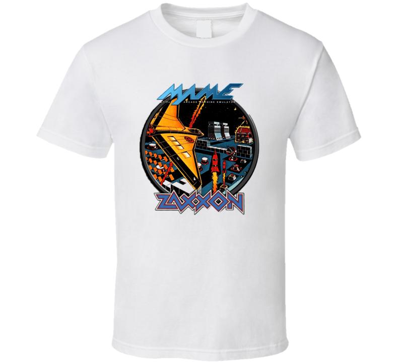 Zaxxon Classic Video Game Cartridge Retro Gift T Shirt