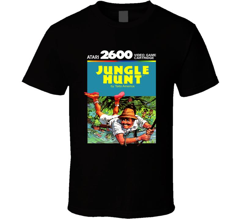Jungle Hunt Classic Video Game Cartridge Retro Gift T Shirt