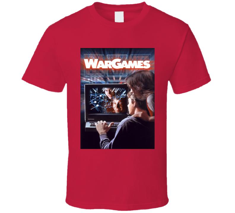 War Games Classic Video Game Cartridge Retro Gift T Shirt