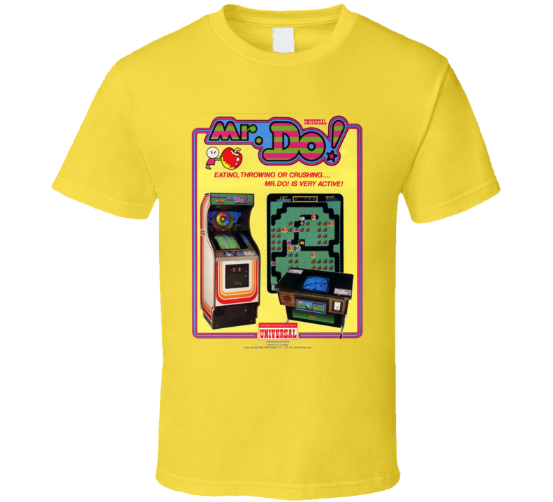 Mr. Do Classic Video Game Cartridge Retro Gift T Shirt