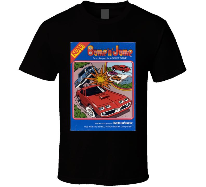 Bump 'n' Jump Classic Video Game Cartridge Retro Gift T Shirt