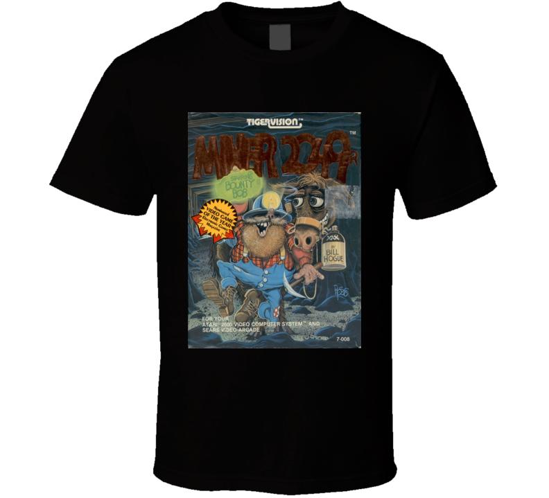 Miner 2049er Classic Video Game Cartridge Retro Gift T Shirt