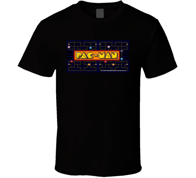 Pac-man Classic Video Game Cartridge Retro Gift T Shirt