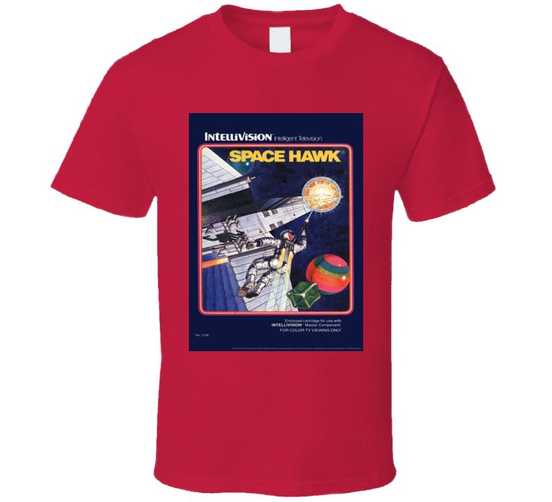 Space Hawk Classic Video Game Cartridge Retro Gift T Shirt