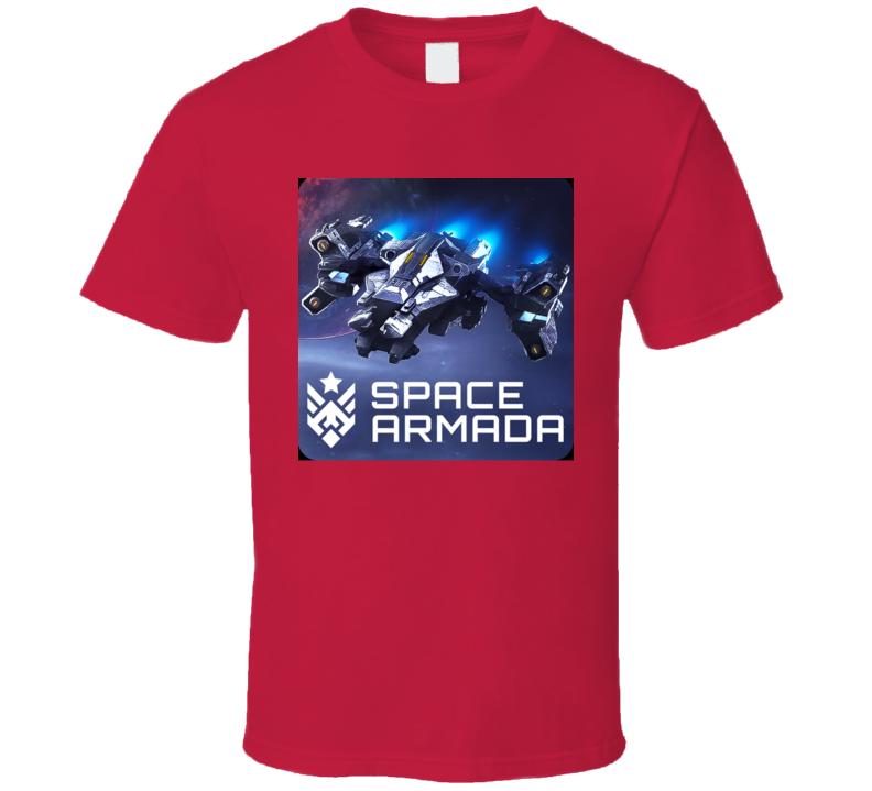 Space Armada Classic Video Game Cartridge Retro Gift T Shirt
