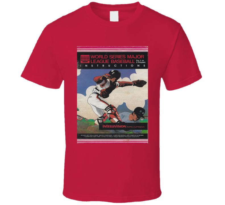 World Series Baseball Classic Video Game Cartridge Retro Gift T Shirt