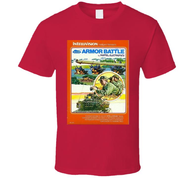 Amor Battle Classic Video Game Cartridge Retro Gift T Shirt