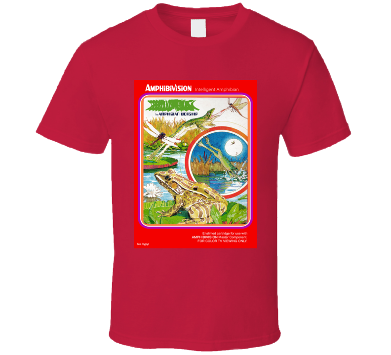 Frogs And Flies Classic Video Game Cartridge Retro Gift T Shirt