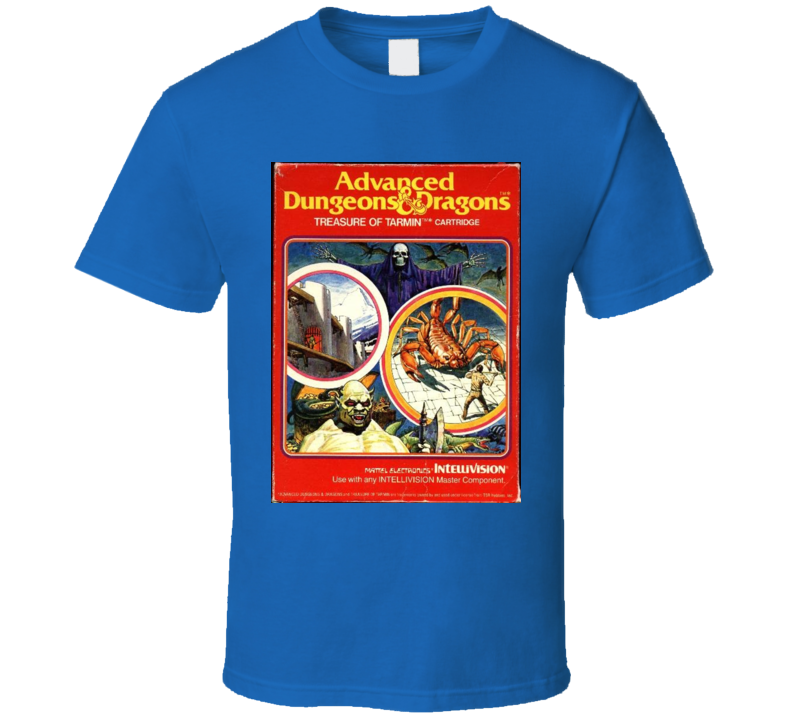 Advanced Dungeon Classic Video Game Cartridge Retro Gift T Shirt