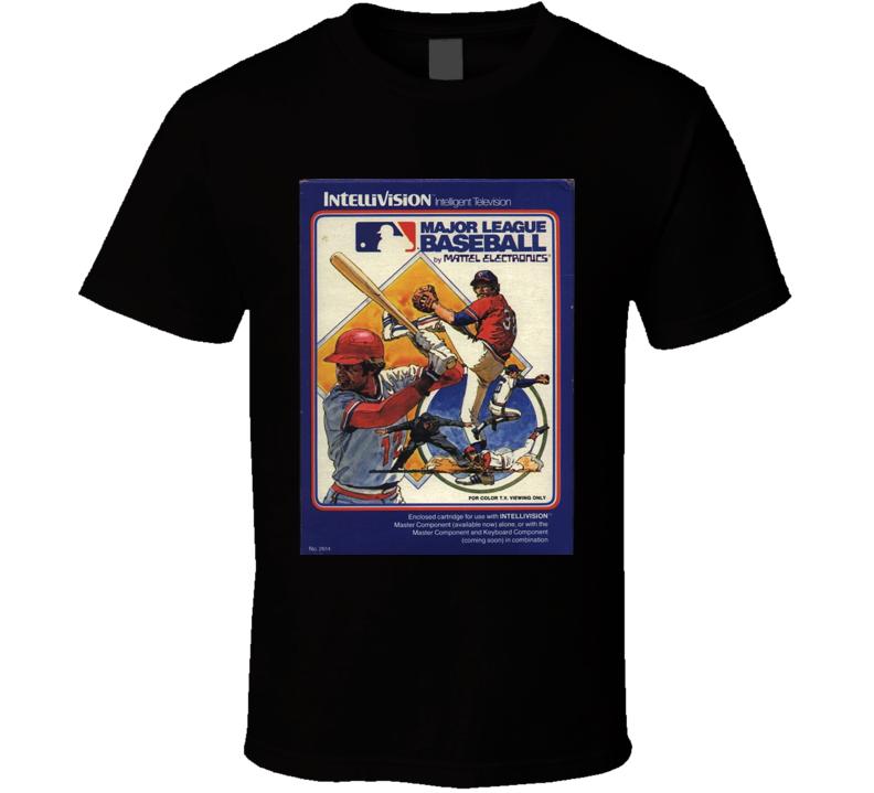 Baseball Classic Video Game Cartridge Retro Gift T Shirt