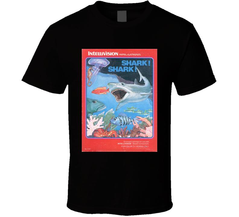 Shark! Shark! Classic Video Game Cartridge Retro Gift T Shirt
