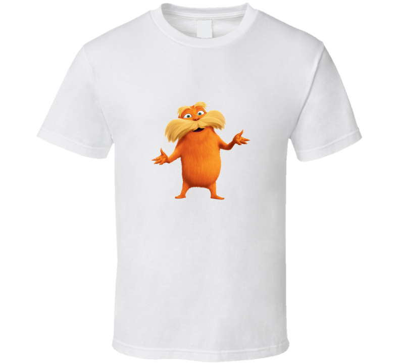 The Lorax Cartoon Movie T Shirt