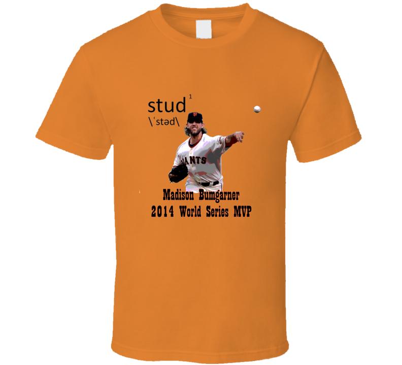 Madison Bumgarner World Series 2014 MVP T Shirt