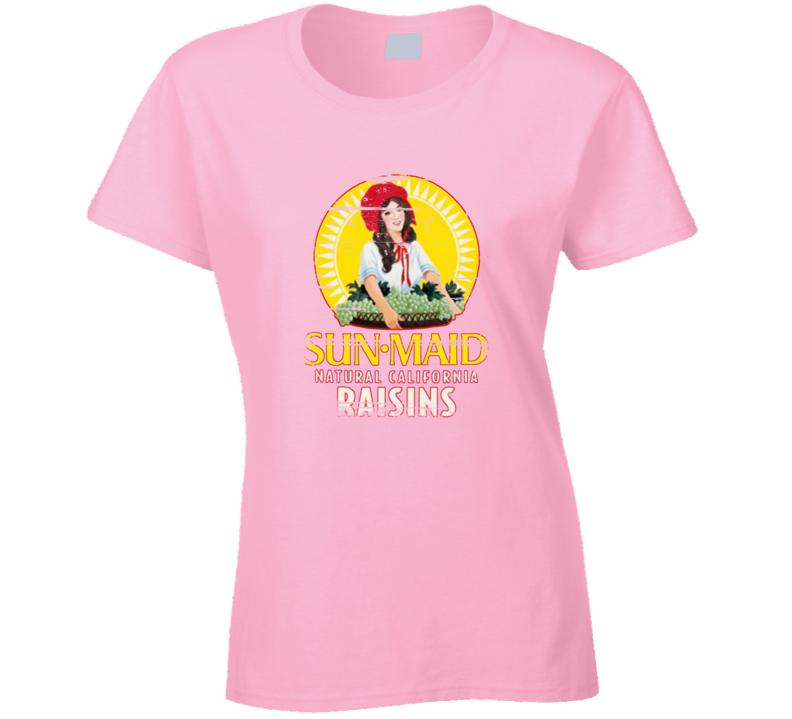 Sun Maid California Raisins Aged Look T Shirt